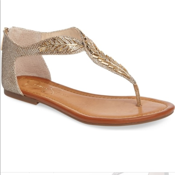 2851dfb1498d Jessica Simpson Shoes - Stunning JESSICA SIMPSON Kalie Feather Sandals